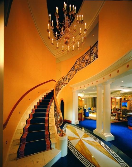 Hotel Burj Al Arab Dubai Strandhotel Emirates Travel